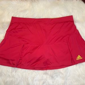 Adidas Climalite athletic skirt skort pleated L